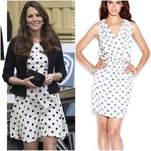 New navy print super nova dress